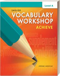 Shop | Vocabulary Workshop Achieve Student | Gr  6–12+