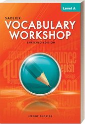 Shop | Vocabulary Workshop Enriched Edition | Student | Gr